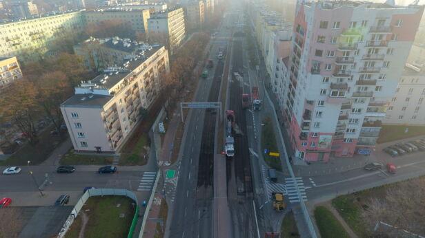 Tak wygląda budowa metra na Woli Lech Marcinczak, tvnwarszawa.pl