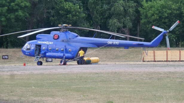 Helikopter na Batorego Artur Węgrzynowicz, tvnwarszawa.pl