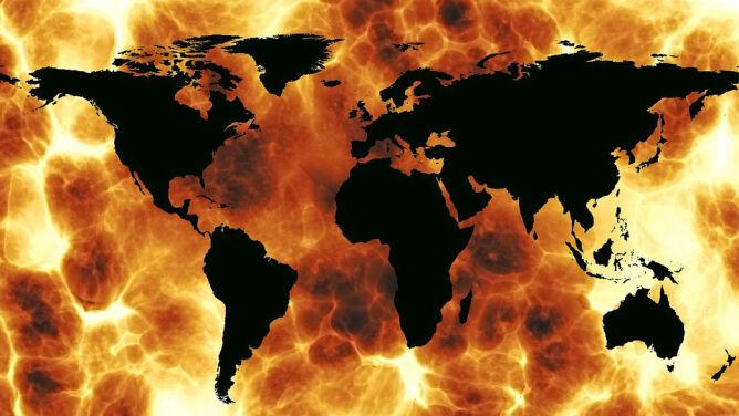 """WMO: Ziemia ociepla się """"bezprecedensowo"""" szybko. Październik 2016 z rekordem temperatury wszech czasów?"""
