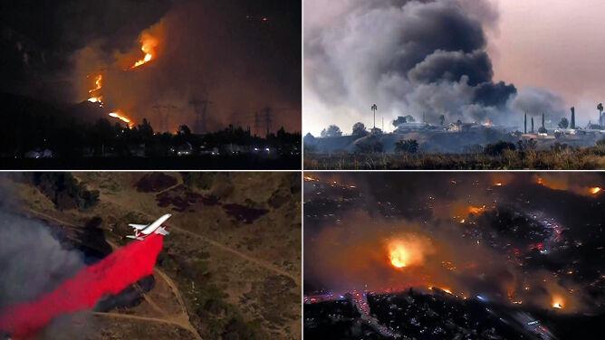 """""""Nie czekajcie, ewakuujcie się"""". <br />Kalifornia płonie, jedna osoba zginęła"""