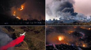 Setki tysięcy mieszkańców Kalifornii musiało się ewakuować