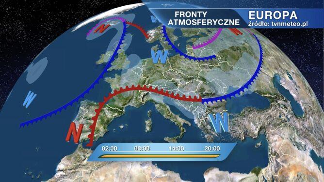Pogodą w Polsce rządzi wyż Claws