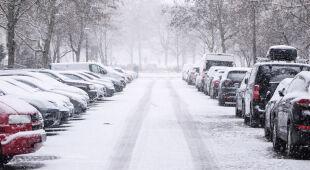 Sytuacja po intensywnych opadach śniegu w Dębicy