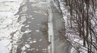Trudna sytuacja w okolicach Płocka