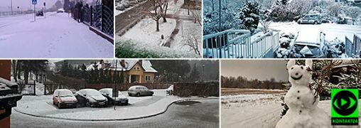 """""""Powrót zimy na wiosnę"""". Śnieżny koniec marca na Waszych zdjęciach"""