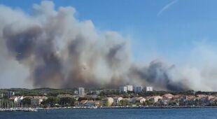 Płoną okolice Marsylii