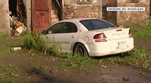 Zniszczenia po lipcowych burzach (TVN24)